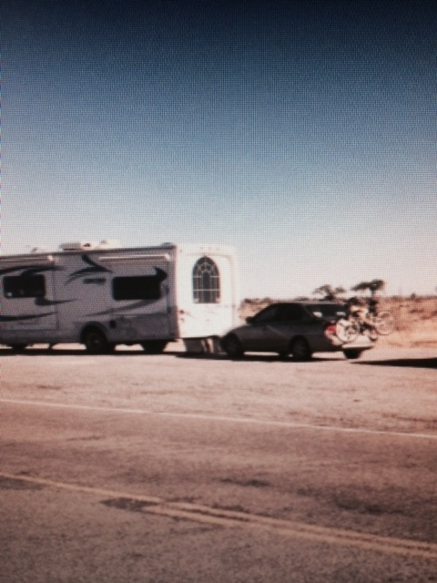Bike Rack Between RV And Tow Car? - Towing - FMCA