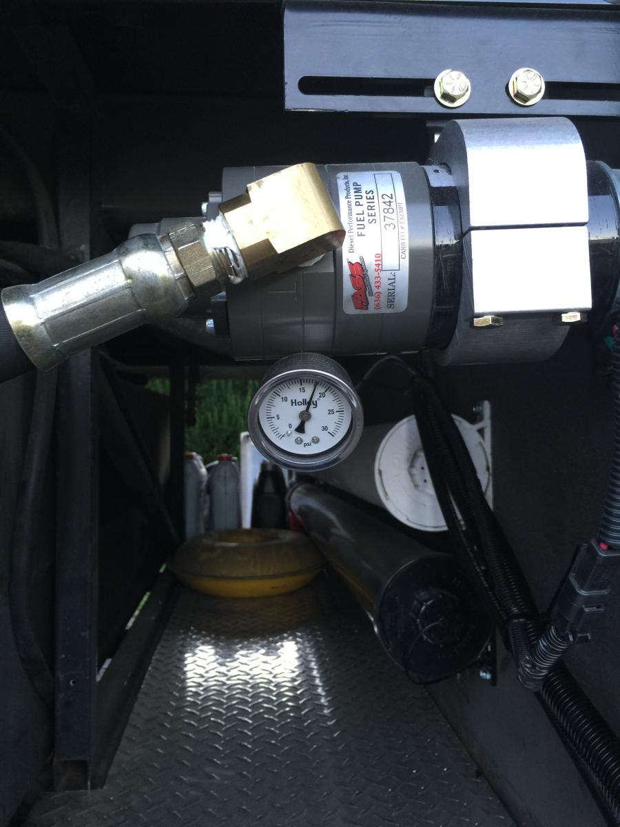 Fass fuel pump with gauge