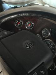 Fuel pressure and Exhaust temp gauge