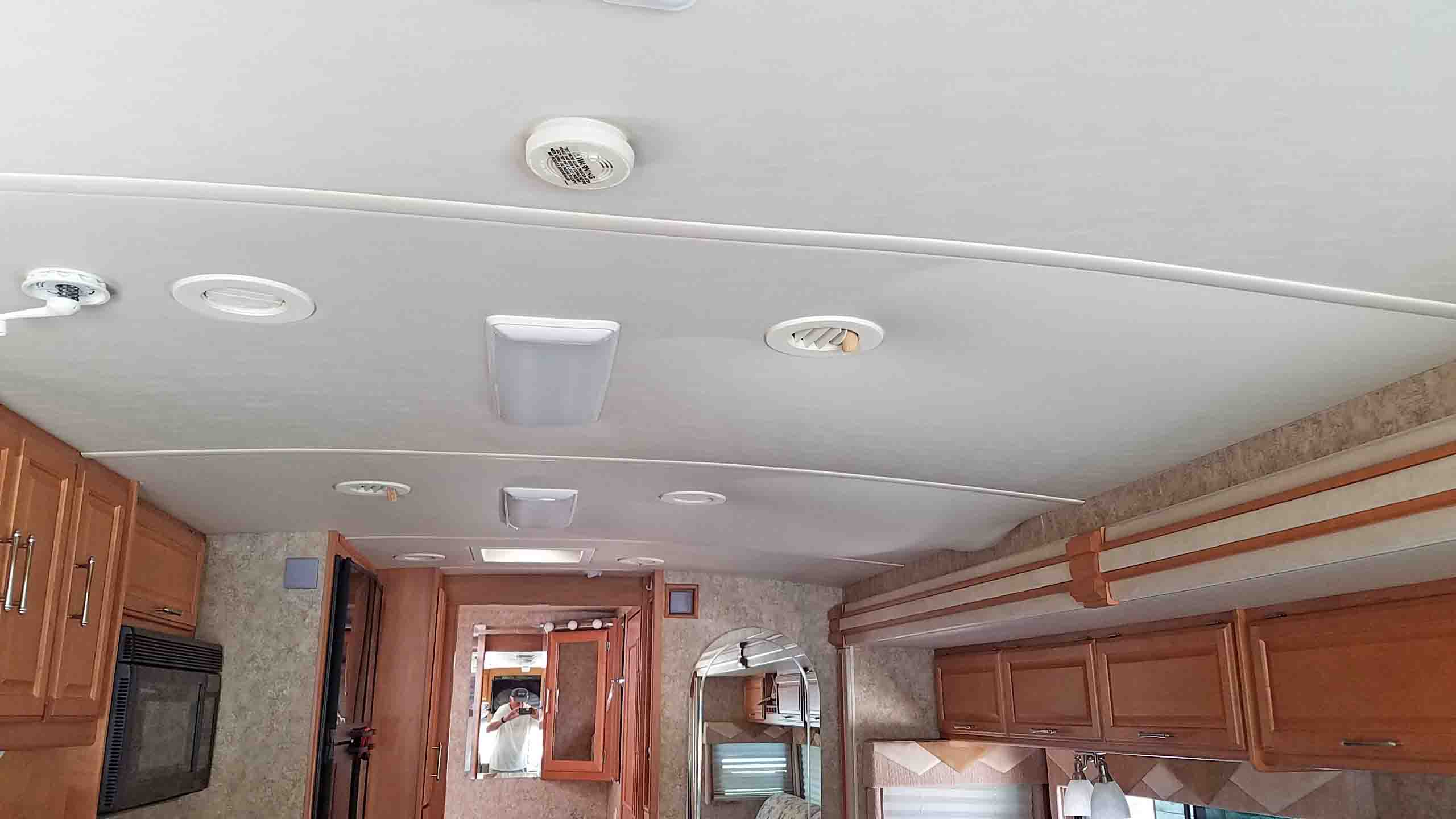 Rv Walls Amp Ceiling Modifications Fmca Rv Forums A