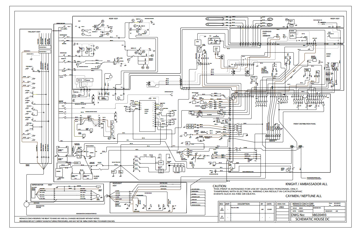 monaco coach wiring diagrams 28 wiring diagram images