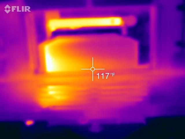 FLIR Shot of Radiator - Type A motorhomes - FMCA RV Forums