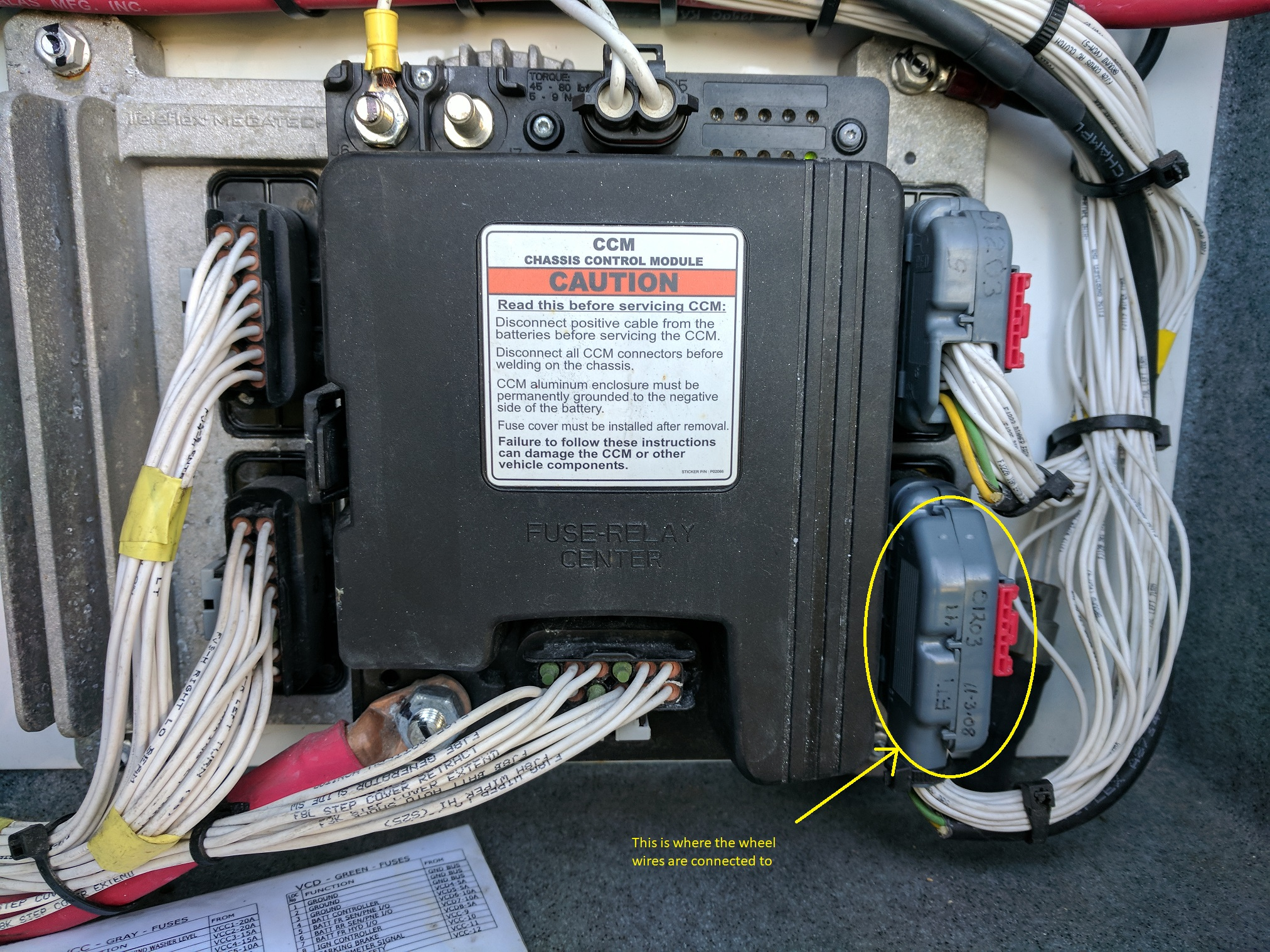 VIP(smart) Wheel Wiring - Electrical - FMCA RV Forums – A Community of RVersFMCA Forums
