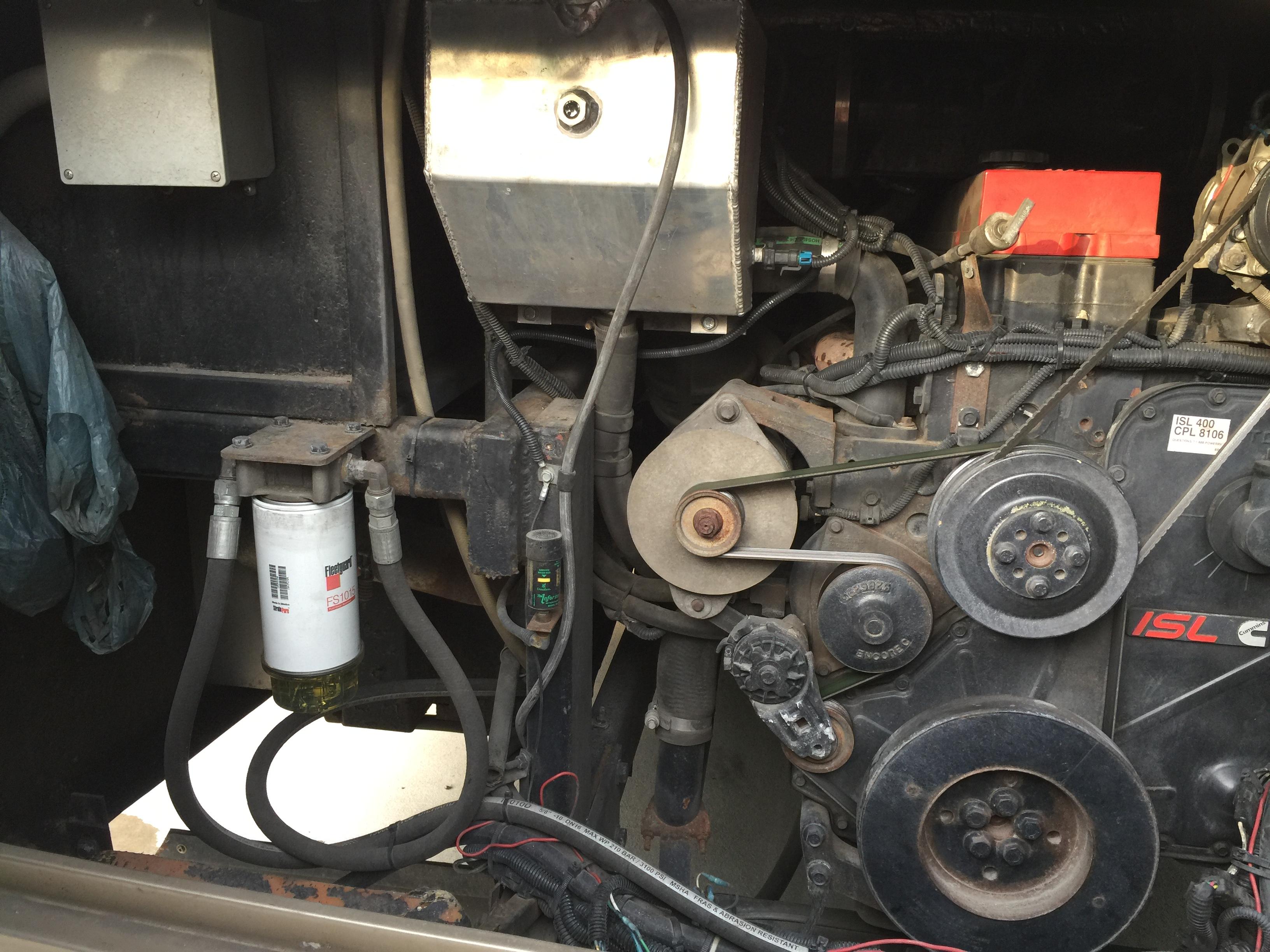 Monaco Roadmaster Coolant Surge Bottle Cap Engines