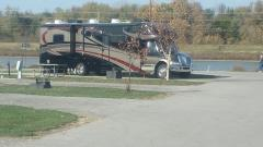 Lakeside RV Park, St. Louis MO.