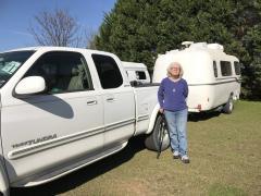 Alex Segal, new FMCA member with a Casita trailer