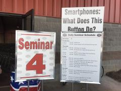 Smartphone seminar by Geeks on Tour