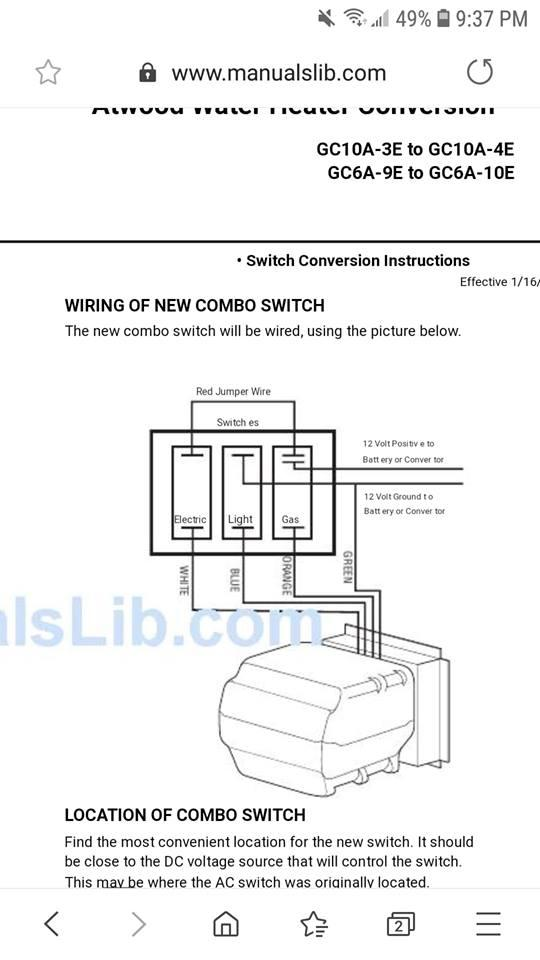 Atwood Hot Water Heater Wiring Diagram from community.fmca.com
