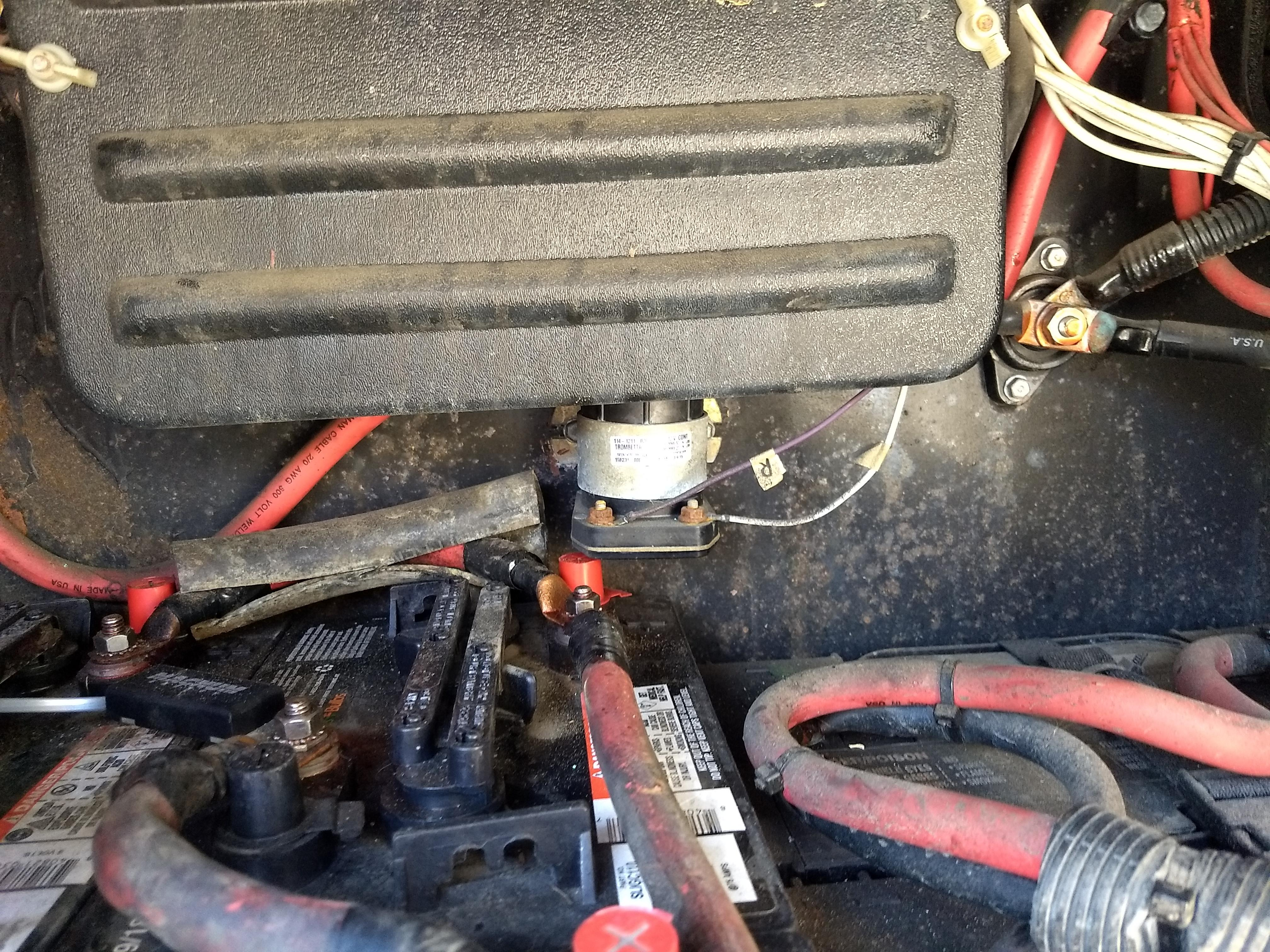 2005 Alfa Founder Where Is The B I R D Isolator Located In The Rv - Electrical